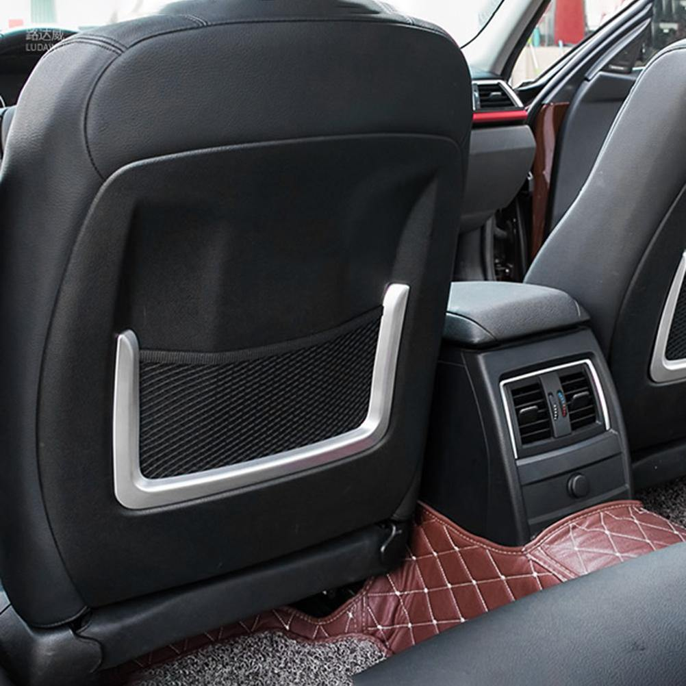 Back Seat Cover Frame Mesh Trim Net For BMW 2018 2019 X3
