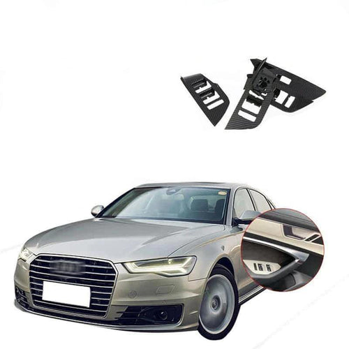 NINTE Interior window switch panel cover Tirm For Audi A6L 2019 - NINTE
