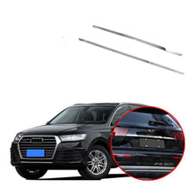 NINTE Stainless steel Tail Rear Trunk Lid Cover Trim For Audi Q7 2016-2019 - NINTE