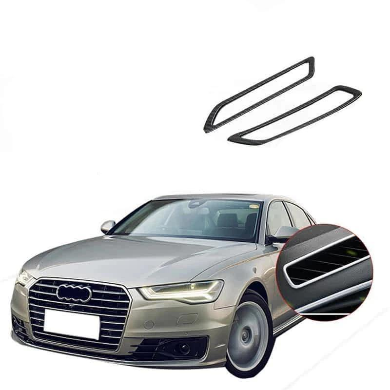 NINTE Interior Front Air Condition Vent cover trim Fit For Audi A6L 2019 - NINTE