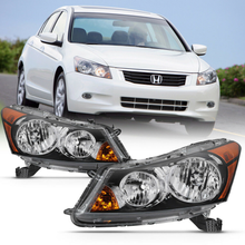 Load image into Gallery viewer, Pair For 08-12 Honda Accord Sedan Factory Style Replacement Headlight Assembly - NINTE