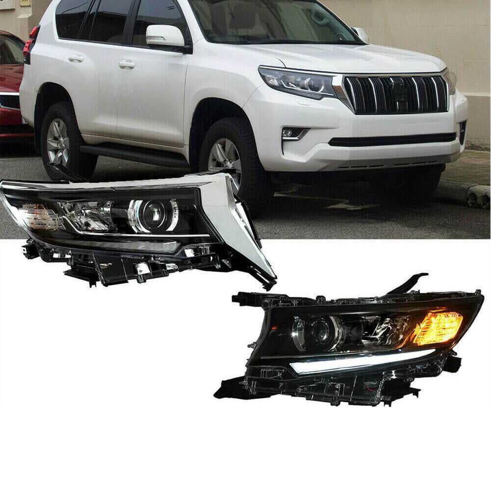 NINTE Headlight For 2018-2020 Toyota Land Cruiser Prado