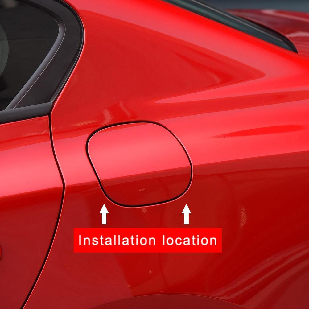 NINTE Gas Oil Cap Fuel Tank Cover For 2019 2020 Ford Focus