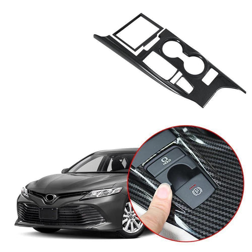 NINTE Inner Gear Shift Box Panel Cover Trim For Toyota Camry 2018 2019 - NINTE