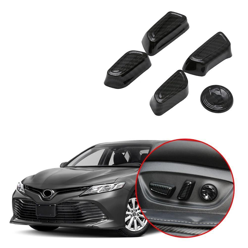 NINTE Toyota Camry 2018-2019 Seat Adjustment Knob Button Switch Cover - NINTE