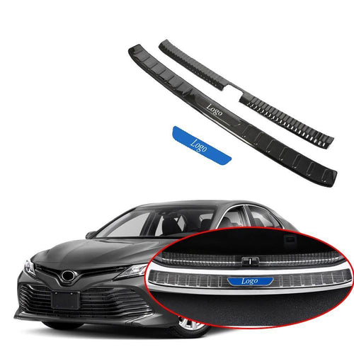 NINTE Rear Bumper Trunk Sill Guard Protector Cover For Toyota Camry 2018-2019 - NINTE