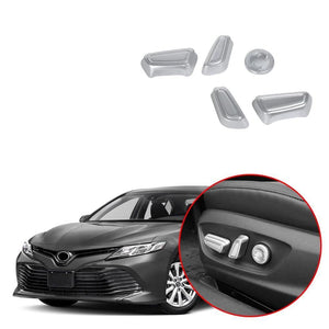 NINTE Car Seat Adjustment Knob Button Switch Cover Trim for Toyota Camry 2018 2019 - NINTE