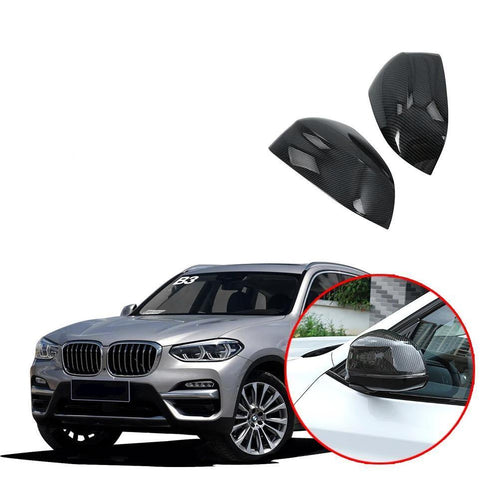 NINTE Mirror Cover for BMW X3 X4 X5 X6 F25 F26 F15 F16 G01 2018 2019 - NINTE