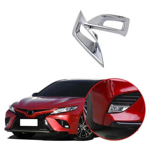 NINTE Front Fog Light Lamp Cover For 2018 2019 Toyota Camry SE/XSE Model - NINTE