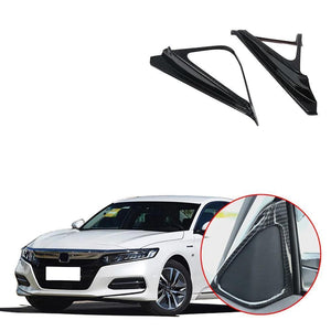 Rqing For Honda 10th New Accord 2018 2019 Window Frame Cover Trims Stainless Steel 6PCS