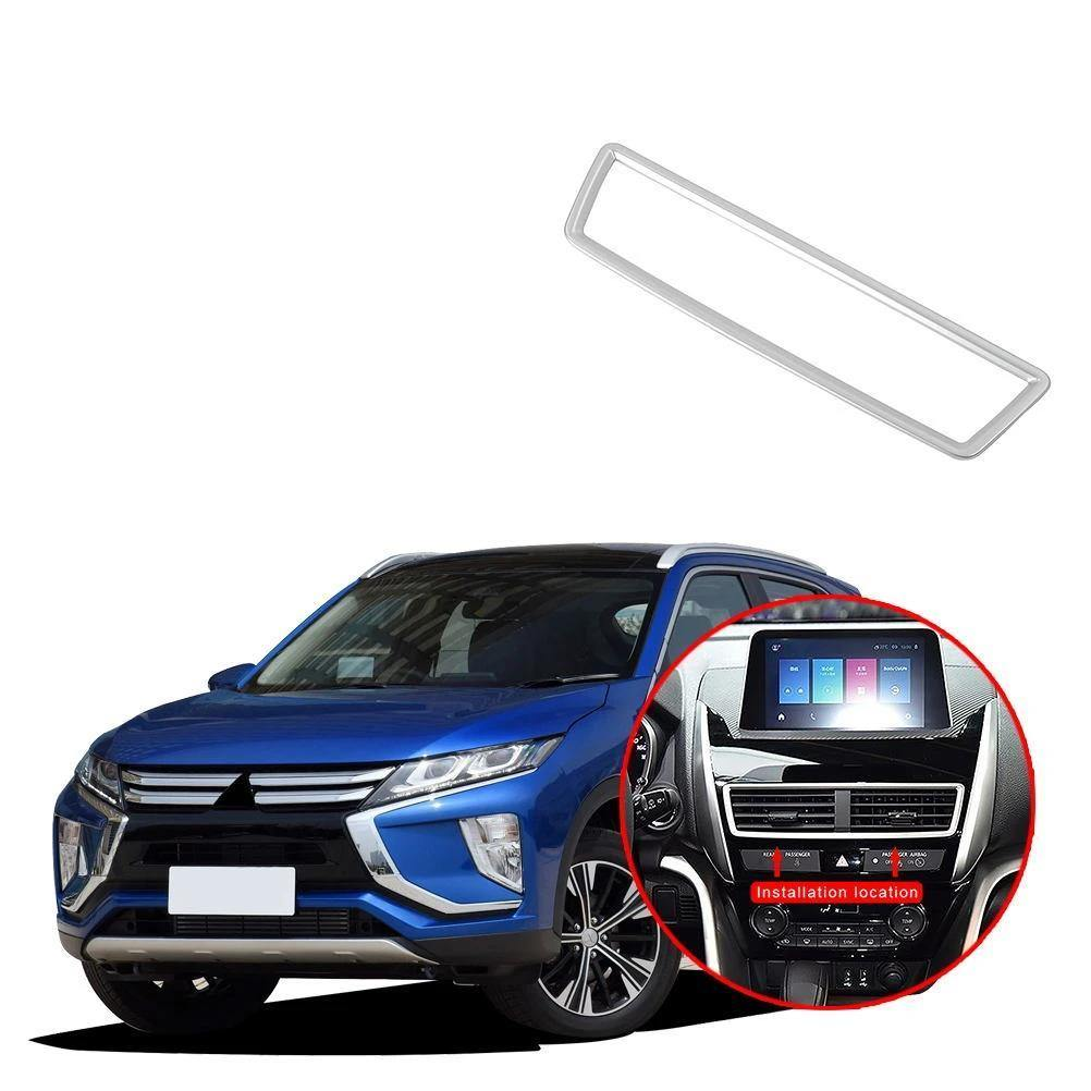 NINTE Mitsubishi Eclipse Cross 2017-2019 Middle Control Air Vent Outlet Cover Trim Decorative Frame - NINTE