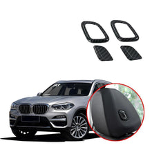 For BMW X3 G01 2018 2019 Front Seat Head Pillow Adjustment Buttons Decoration Cover Trim Interior Styling NINTE - NINTE