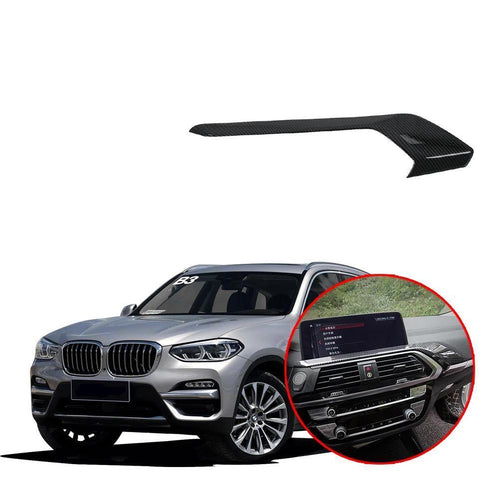 NINTE ABS Central Control Air Outlet Vent Plate Trim For BMW X3 G01 2018-2019 - NINTE