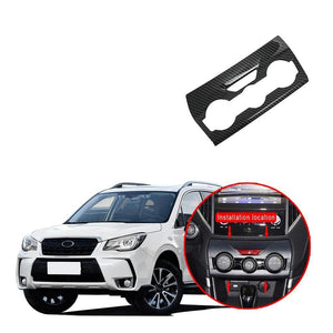 Air Condition Control Panel Cover Pattern For SUBARU Forester 2019 NINTE - NINTE