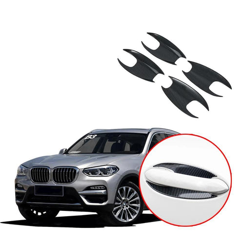 NINTE Door Handle Door Bowl Cover Frame Trim For 2018 2019 BMW X3 G01 - NINTE