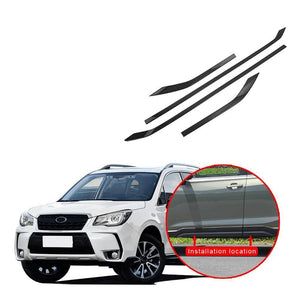 ABS Side Door Body Molding Cover Trim For Subaru Forester 2019 NINTE - NINTE