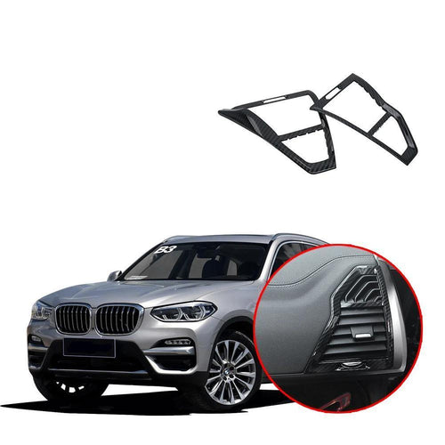 NINTE Side Air Conditioning AC Outlet Vent Molding Cover Trim For BMW X3 G01 2017-2019 - NINTE