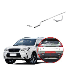 Upper Rear Bumper Strip Trim Cover Chrome Silver Stickers Car Styling Auto Accessories For Subaru Forester 2019 - NINTE