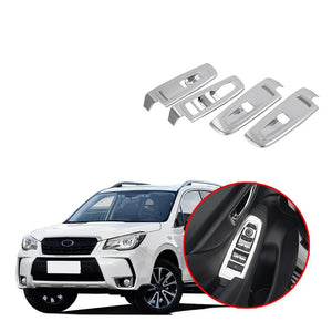 Inner Window Switch Panel Cover Trim For Subaru Forester 2019 NINTE - NINTE