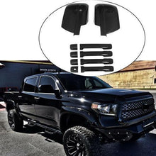 Load image into Gallery viewer, NINTE Toyota Tundra 2007-2020 Gloss Black View Mirror Covers&Door Handle Covers - NINTE