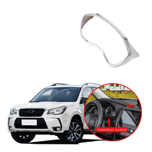 Dashboard Instrument Gauge Screen Frame Cover Trims ABS For Subaru Forester 2019 NINTE - NINTE