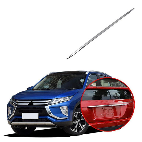 NINTE Exterior Rear Tail Trunk Lid Cover Trim For Mitsubishi Eclipse Cross 2017-2019 - NINTE