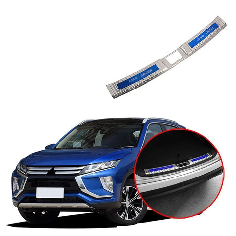 NINTE Steel Inner Rear Bumper Guard Plate 1pcs For Mitsubishi Eclipse Cross 2017-2019 - NINTE