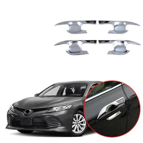 NINTE Outer Door Handle Bowl Cover Trim For Toyota Camry 2018-2019 - NINTE