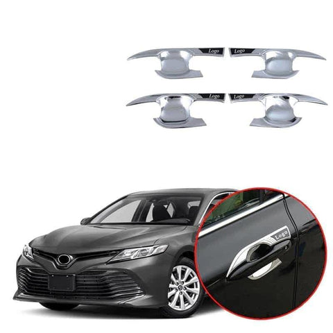 NINTE Outer Door Handle Bowl Cover Trim For Toyota Camry 2018-2020 - NINTE