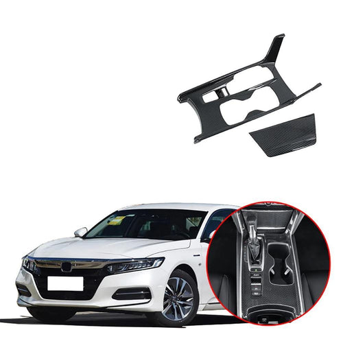 NINTE Inner Gear Shift Box Panel Holder Cover Trim For Honda Accord 2018 2019 - NINTE