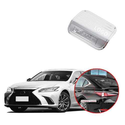 NINTE fuel tank cover oil gas cap trim fit for Lexus ES - NINTE
