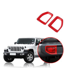 Load image into Gallery viewer, Ninte Jeep Wrangler JL 2018-2019 Stylish Rear Fog Light Lamp Cover Decoration - NINTE