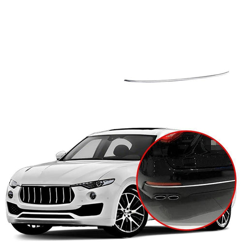 Rear Tail Door Bumper Trunk Guard Cover Trim for Maserati Levante 2016-2019 NINTE - NINTE
