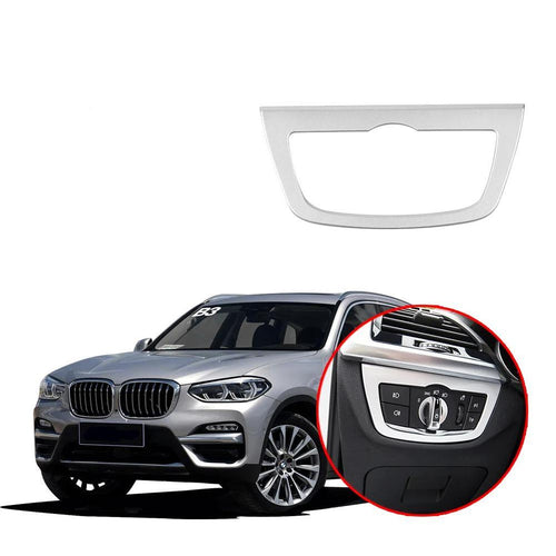 NINTE Headlight Lamp Adjustment Panel Cover Trim For BMW X3 G01 2018-2019 - NINTE