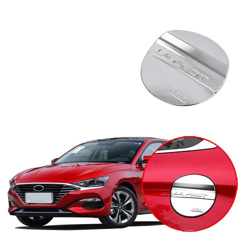 ABS Fuel Tank Oil Gas Tank Cap Cover Trim For HYUNDAI LA FESTA 2018-2019 NINTE - NINTE