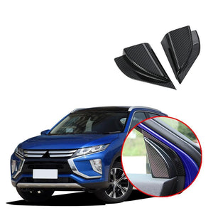 Front Door Triangle Cover Trim For Mitsubishi Eclipse Cross 2017-2019 NINTE - NINTE