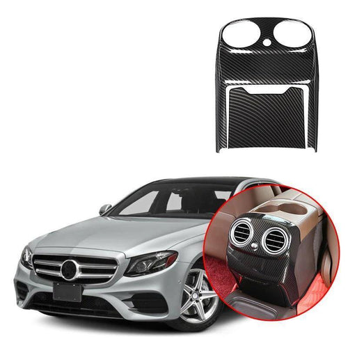 NINTE ABS Rear Air Outlet Cover Trim For Mercedes Benz E Class W213 2016-2018 - NINTE