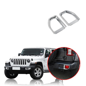 Car Styling Rear Fog Light Lamp Cover Decoration for Jeep Wrangler JL 2018 2019 NINTE - NINTE
