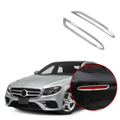 NINTE Rear Back Fog Light Lamp Trim For Benz E-Class E300 W213 2016-2018 - NINTE
