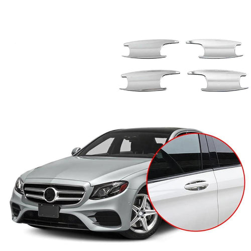 ABS Door Handle Bowl Cover Trim For Mercedes-Benz E-Class W213 2016-2018 NINTE - NINTE