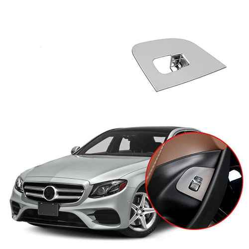NINTE ABS Tail Gate Switch Button Cover Trim For Mercedes Benz E Class W213 2016-2018 - NINTE