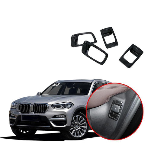 NINTE Rear seat adjustment cover for BMW X3 G01 2017 2018 2019 Car interior decorative trim - NINTE