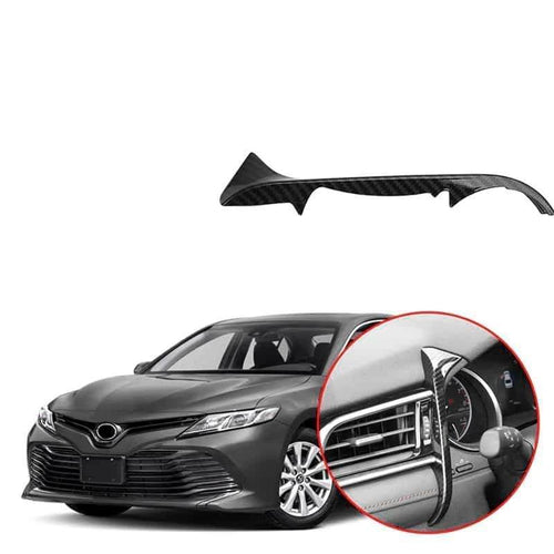 NINTE Front Dashboard Left Outlet Cover Trim For Toyota Camry 2018 2019 - NINTE