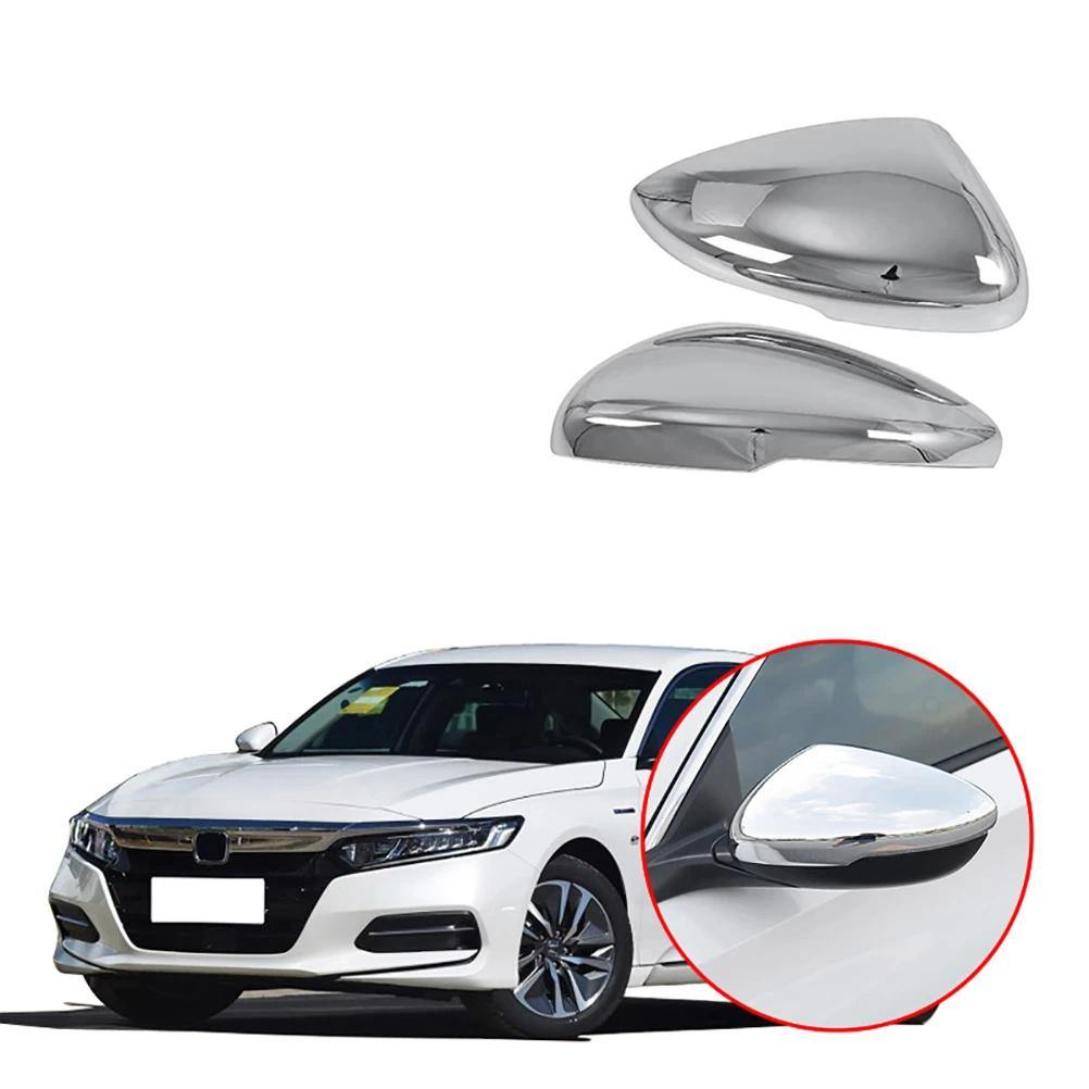 Carbon fiber Door Side Mirror Cover Rearview Cover Trim For Honda Accord 2018 19