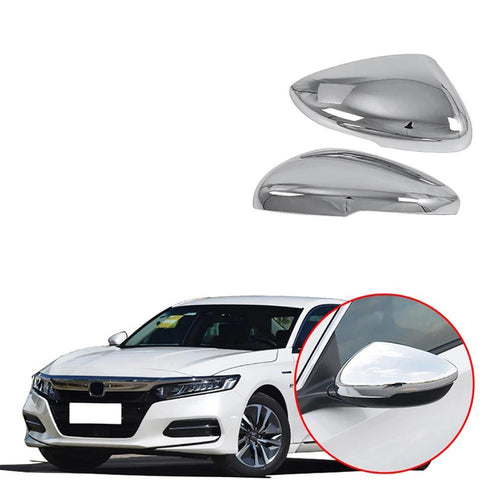 Rearview Mirror Cover Side Wing Cap Shell Trim Exterior Chromium Styling For Honda Accord 10th 2018 2019 Accessories - NINTE