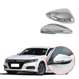 NINTE Car Styling Rearview Mirror Cover Side Wing Cap Shell Trim For Honda Accord 10th 2018 2020 - NINTE