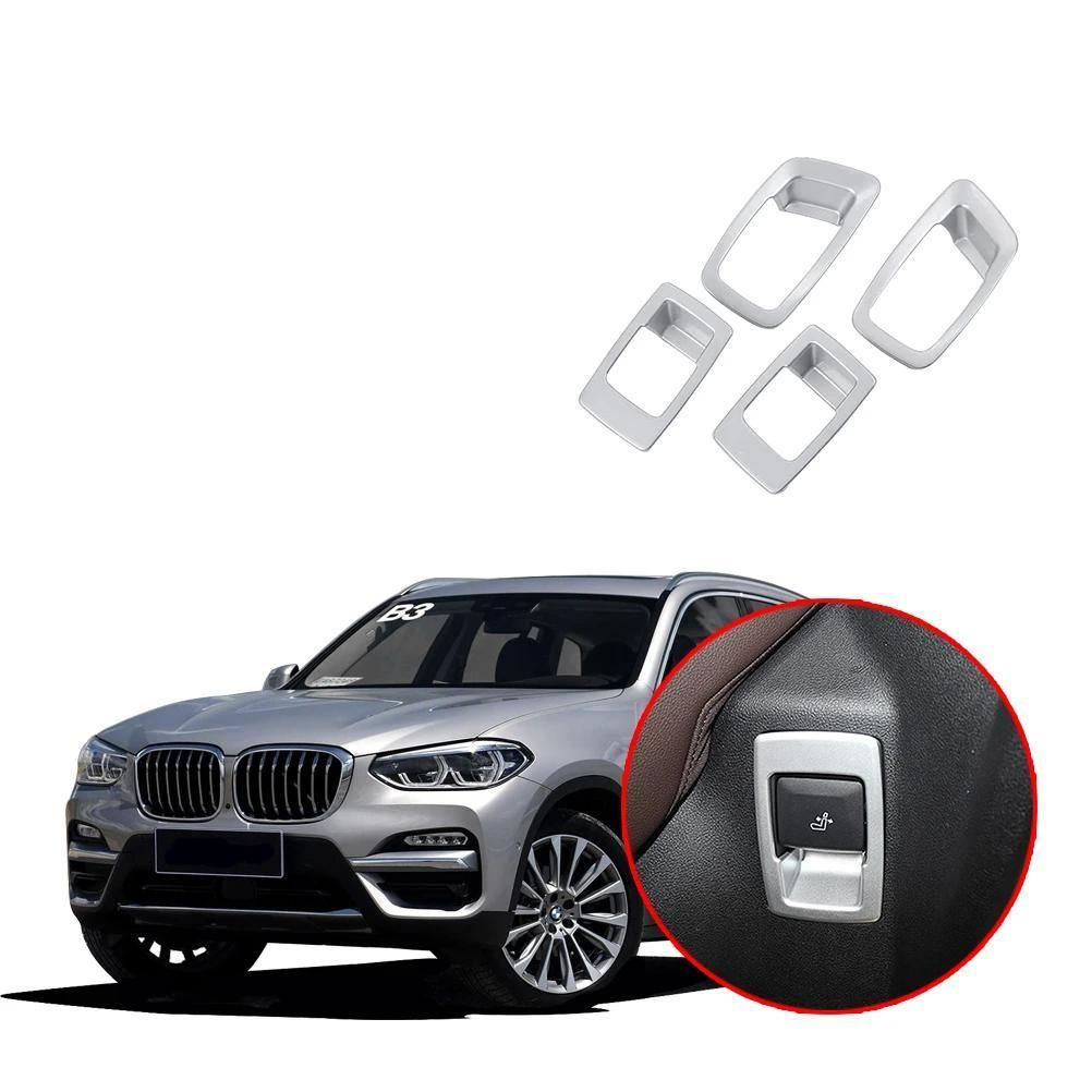 NINTE BMW X3 G01 2017-2019 Car Interior Decorative Trim Rear Seat Adjustment Cover - NINTE