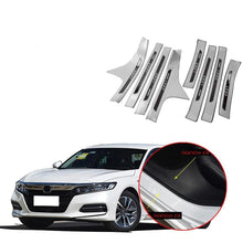 Load image into Gallery viewer, NINTE Honda Accord 2018-2019 Outer & Inner Door Sill Scuff Plate Threshold Cover - NINTE