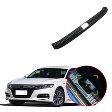 NINTE Rear Bumper Protector Sill Tailgate Cover For Honda Accord 2018 2019 Stainless Steel - NINTE