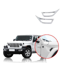 Car Side Air Outlet Cover Decoration for Jeep Wrangler JL 2018 2019 NINTE - NINTE